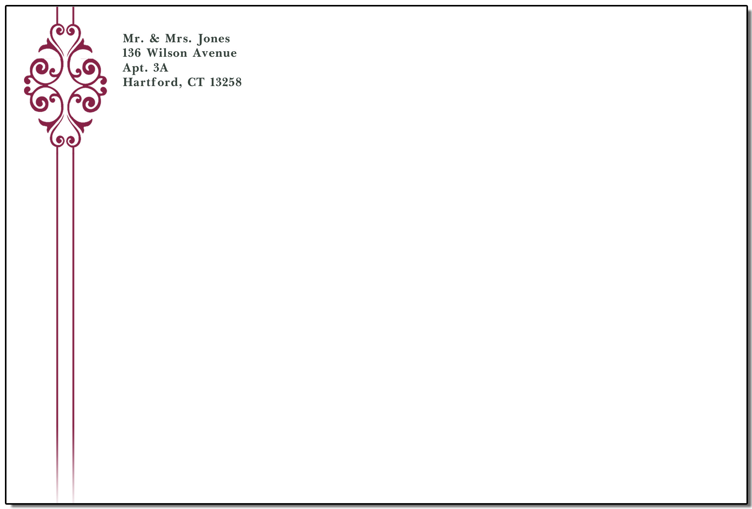 Ribbon Envelopes For Personalized Wedding Invitations Beautiful Envelope Designs Printed On Quality Paper