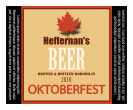 Oktober Square Text Beer Labels