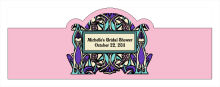 Art Noveau Wedding Billboard Cigar Band Labels