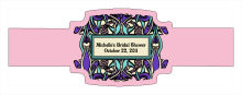 Art Noveau Wedding Buckle Cigar Band Labels