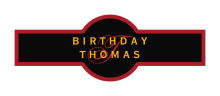 Initial Birthday Cigar Band Labels